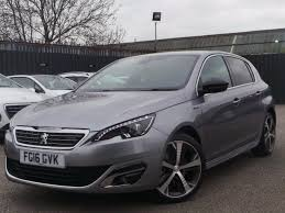 peugeot grey 2016 16 peugeot 308 2 0 bluehdi 150 gt line 5dr coming soon in