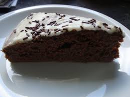 gateau au chocolat glaçage vanille shy pancake