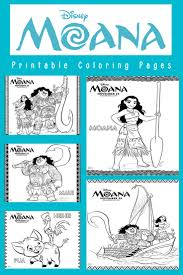disney u0027s moana coloring pages more moana more printables