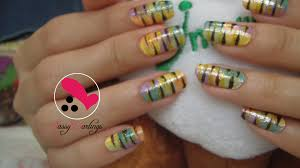 animal prints nail art love