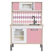 kinderk che holz rosa klebefolie rautig für ikea kinder küche rosa