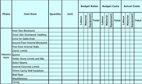 Construction Sheets Template Free Masonry Estimating Sheet To Estimate Your Masonry