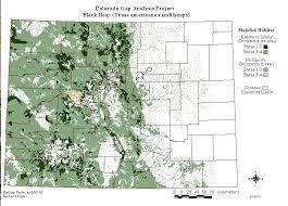 colorado population map distribution in colorado smart durango