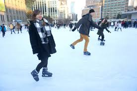 walk with cham outdoor skating at seoul plaza seoul south korea