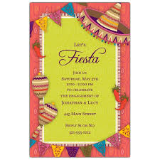 Engagement Invitation Quotes Mexican Fiesta Engagement Invitations Paperstyle