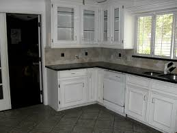 dark floor with white cabinets the perfect home design