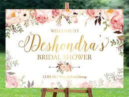 bridal shower signs bridal shower sign bridal shower welcome sign bridal shower
