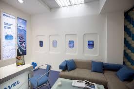 bureau decor travel agency office interior design kitchen ideas of travel