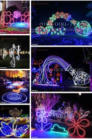 Lighted Peacock Christmas Decoration Different Outdoor Holidays Decoration Lights Big Butterfly Led