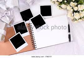 Photo Album With Black Pages Photo Album Blank Page Stock Photos U0026 Photo Album Blank Page Stock