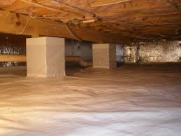 is crawl space encapsulation necessary for a dry crawlspace