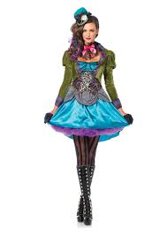 leg avenue 3 piece deluxe mad hatter costume seasonal