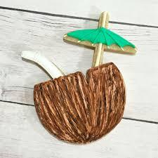 tropical drink emoji coconut drink cookie