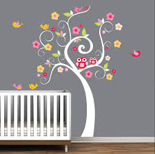 Tree Decals For Walls Nursery by Children Wall Decals Nursery Tree Decal Wall Stickers Swirl Tree