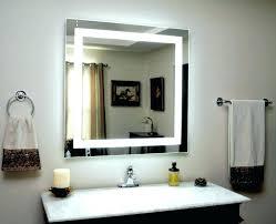 Bathroom Mirror With Lighting Makeup Mirrors Bathroom Mirrors The Home Depot Magnifying Mirror