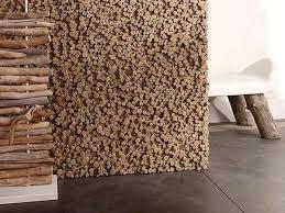 pixelated wooden walls the bleu nature driftwood wall features an
