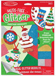 Christmas Ornaments For Crafts by Amazon Com Foam Simple Santa Ornament Craft Kit Crafts Activity