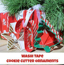 washi cookie cutter ornaments coffee with us 3