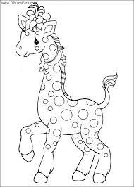 imagenes de jirafas bebes animadas para colorear dibujo de jirafa infantil para colorear dibujos de jirafas para