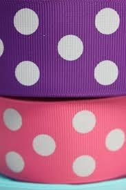 polka dot grosgrain ribbon sale 1 5 polka dot grosgrain ribbon 5 yards grosgrain ribbon by