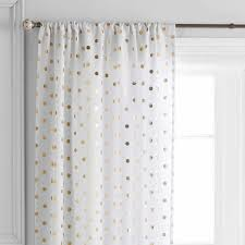 Better Homes Curtains Better Homes And Gardens Polka Dots Curtain Panel Walmart White