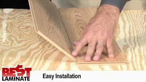 Eligna Laminate Flooring Quick U2022step Eligna Review Of Natural Honey Oak Laminate Floor Youtube