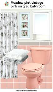 retro pink bathroom ideas epic vintage pink bathroom ideas designing inspiration to decorate