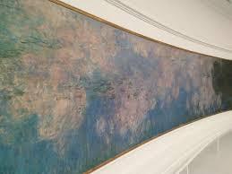 Uma Floor L Uma Das Lês Nymphéas De Monet Picture Of Musee De L Orangerie