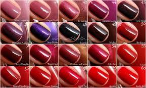essie color guide 1 100 nailderella