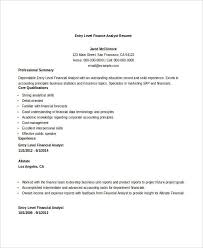 Resume Examples Financial Analyst by Finance Resume Templates 28 Free Word Pdf Documents Download