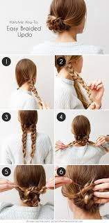 updos for long hair with braids 20 cute and easy braided hairstyle tutorials
