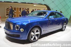 bentley blue 2015 bentley mulsanne speed front three quarter view at 2015