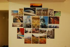 Hanging Pictures Without Frames Displaying Photographs Without Frames