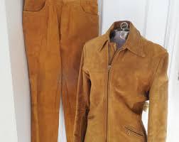 Cowhide Pants Cowhide Jacket Etsy