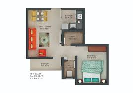 1 bhk floor plan floor plan of 1bhk flats in chakan dwarka township