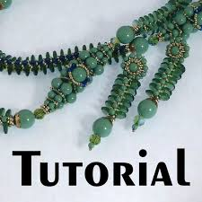 beaded bead necklace images Tutorial spinal tap beaded bead rope and earrings mikki jpg