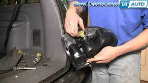 2005 dodge grand caravan tail light assembly how to install replace taillight dodge durango minivan 96 03 1aauto