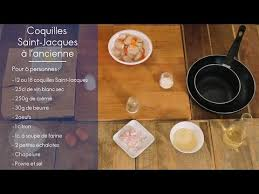cuisine coquille jacques recette coquilles jacques à l ancienne cuisine