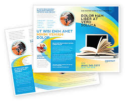 e brochure design templates elearning brochure template design and layout now 04807