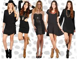 the black dress what colour accessories should you wear with a black dress