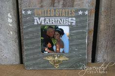 5 x 7 frames military gifts military decor military frames