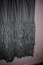 Gypsy Ruffled Shower Curtain Ruffle Curtains Panel How Do Pleated And Ruffle Curtains