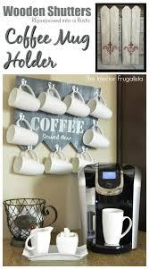 under cabinet coffee mug rack tree branch coffee mug holder regarding plans 9 weliketheworld com
