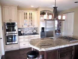 cream cabinet kitchen cream painted cabinets with glaze traditional kitchen st