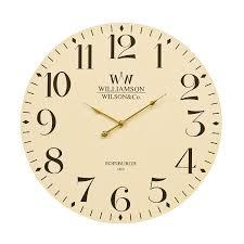 Wall Watch by Premier Housewares Classical Wall Clock 60 Cm Black Amazon Co