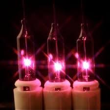 purple christmas tree lights 100 bulbs spaced 2 5 inches apart
