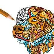 dog coloring pages coloring book adults microsoft store