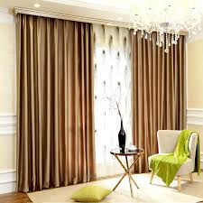 blackout luxury window curtains in champagne color
