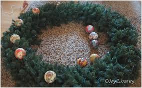 decorating u2026 a plain christmas wreath joy 2 journey