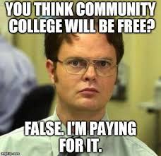 Community College Meme - i have loans to pay for community college but i know obama s plan